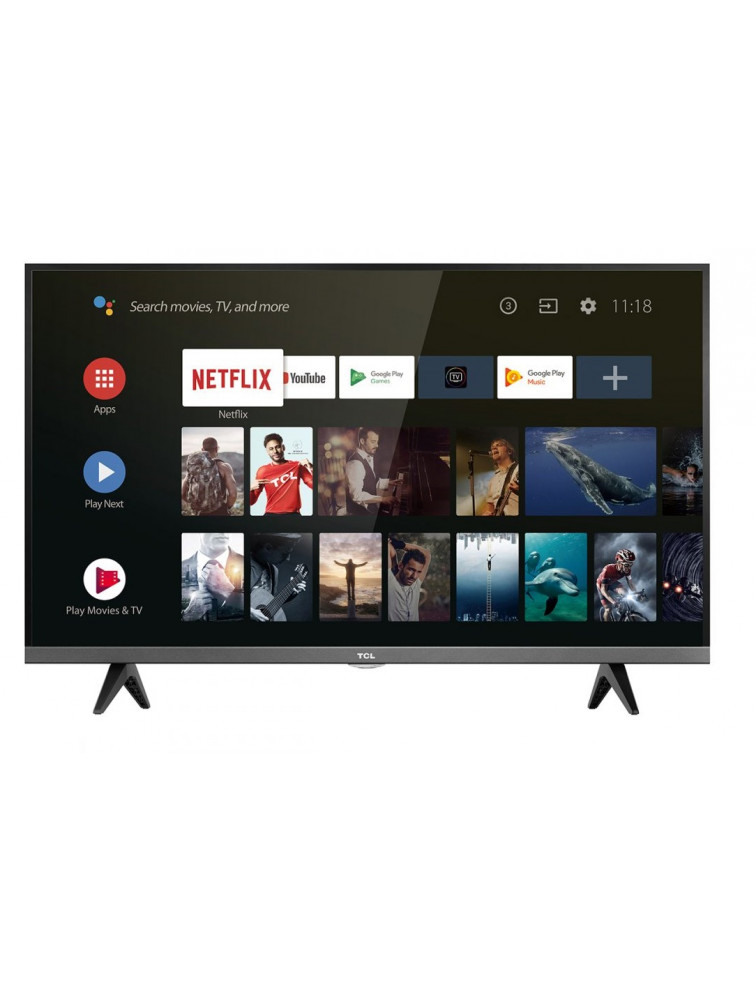 TCL 32ES560 S5-SERIES Τηλεόραση 32'' HDR ANDROID TV Micro-300PPI-8bit DVB-T2/C/52 (Με Επιτραπέζια Βάση)